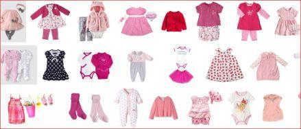 résultats recherche vêtements bébé fille dans Google Images